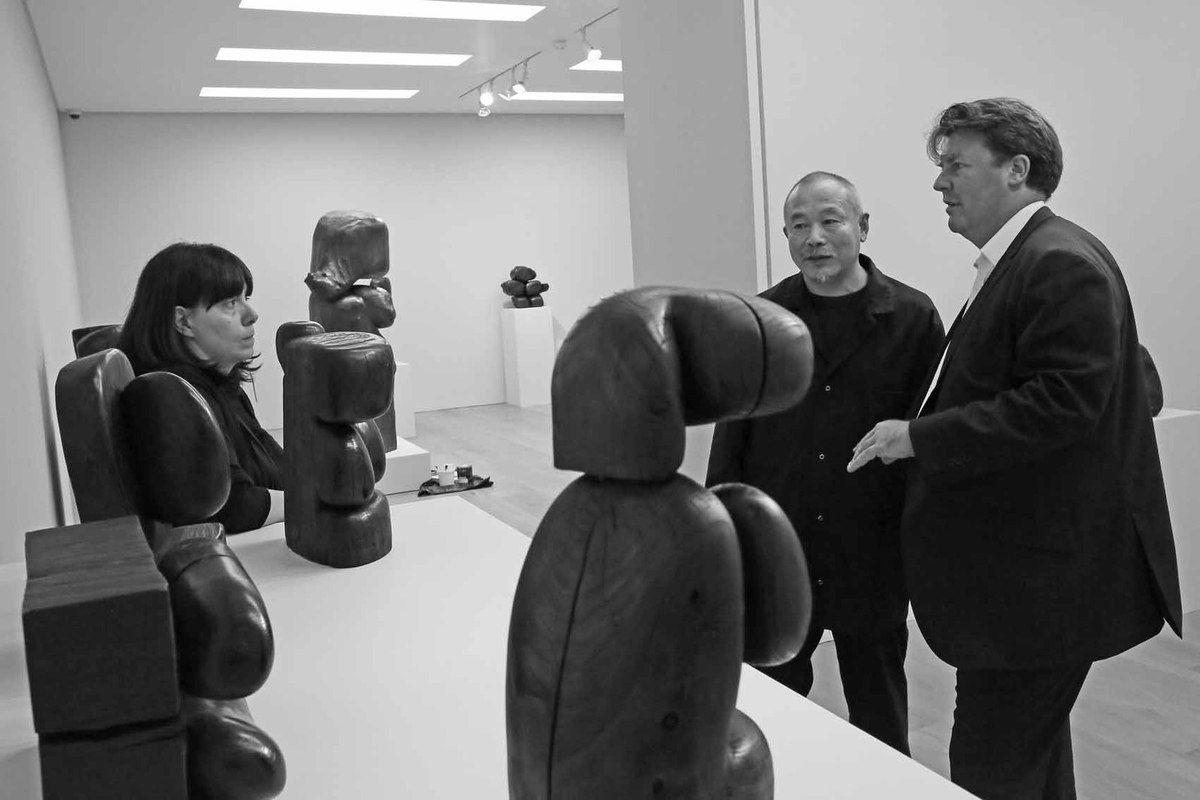 Daria Manganelli, Wang Keping, Ben Brown