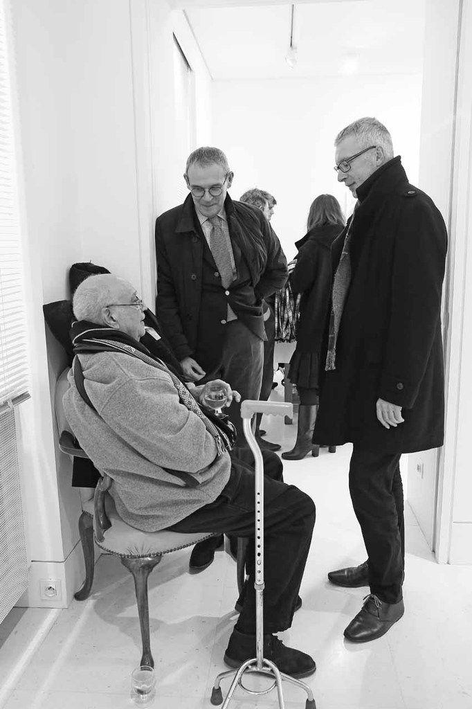 Hervé Télémaque, Jean-Jacques Aillagon, Christian Briend