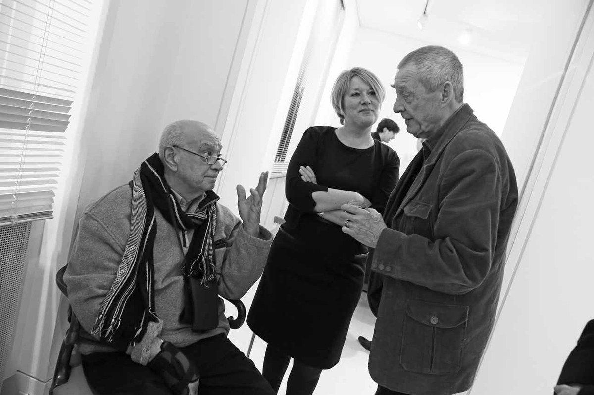 Hervé Télémaque, Catherine Lhost, Mark Brusse