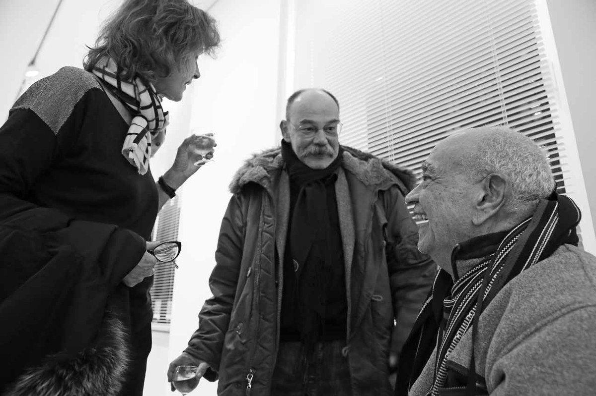 Inconnue, Harry Bellet, Hervé Télémaque