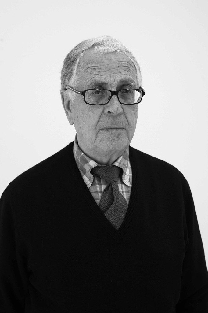 Martin Chirino lors de son exposition à la galerie Thessa Herold. Paris le 23 mai 2007