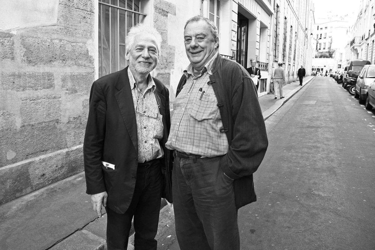 Avec Tristan Bastit. Paris le 21 avril 2007