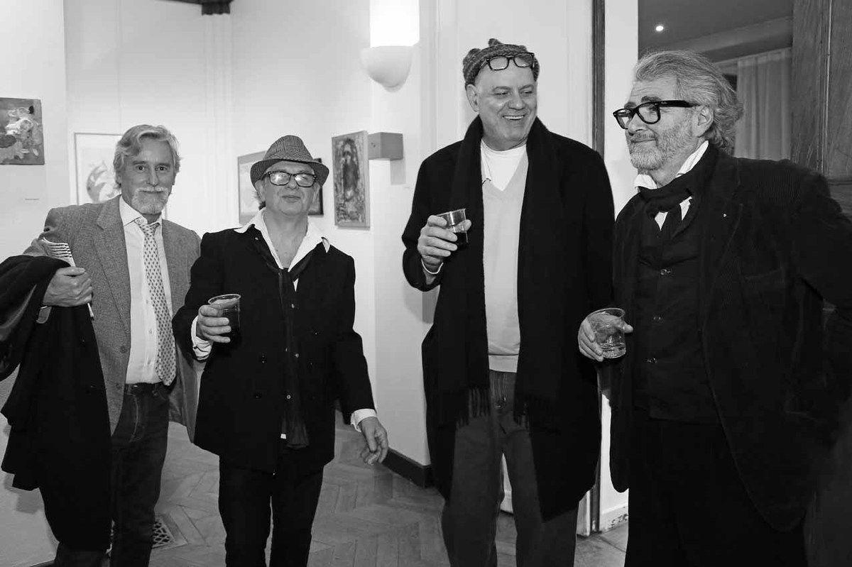 Manuel J. Cancel, Ricardo Mosner, Rafael Bueno, Ruben Alterio