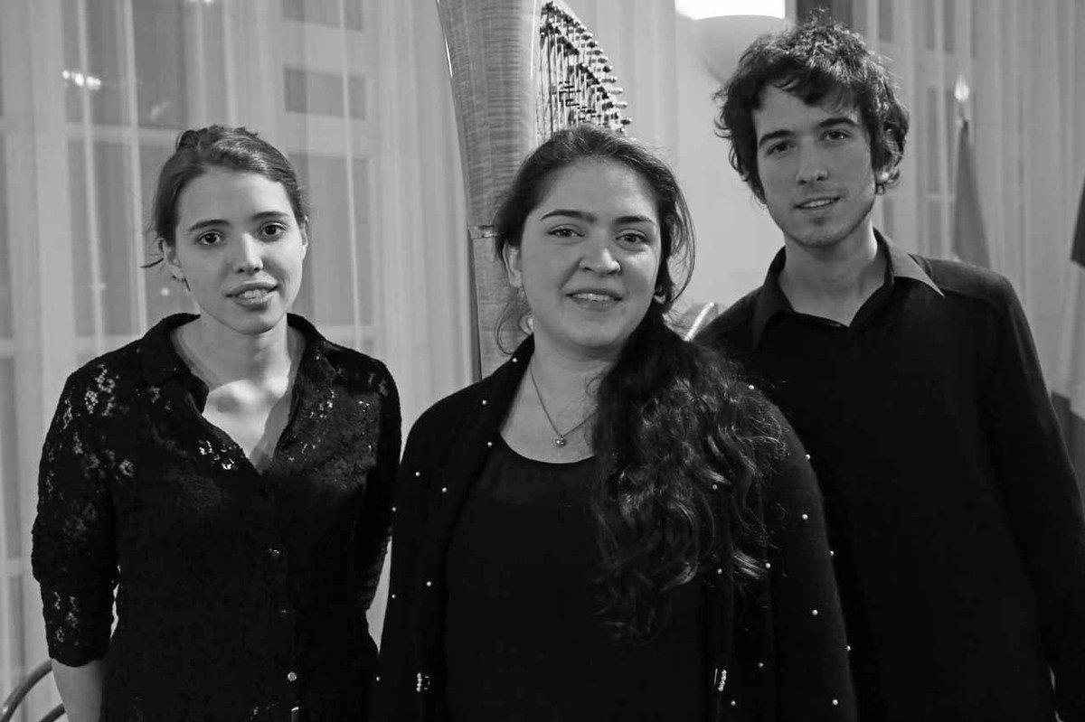 Alina Traine, Gabriela Gonzalez Czerednikow, Alex Nante