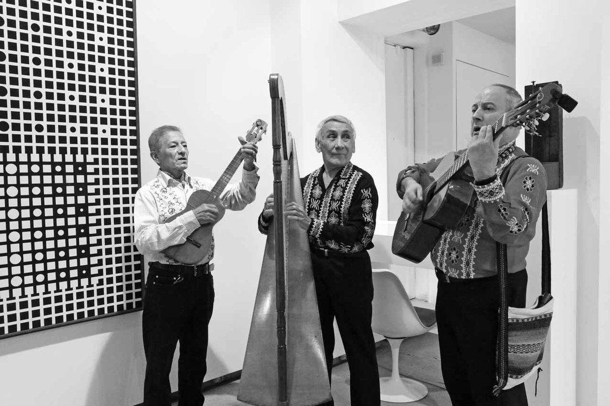 Cesar Andrade, Quintin Gutierez, Javier Martinez