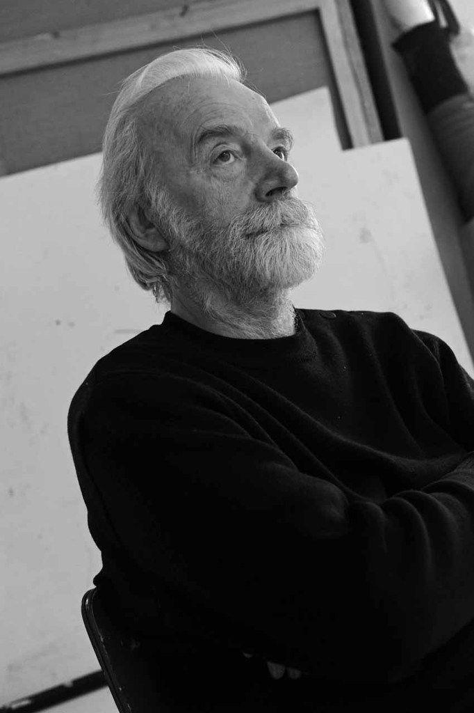 Marek Szczesny dans son atelier de Paris, le 16 janvier 2013