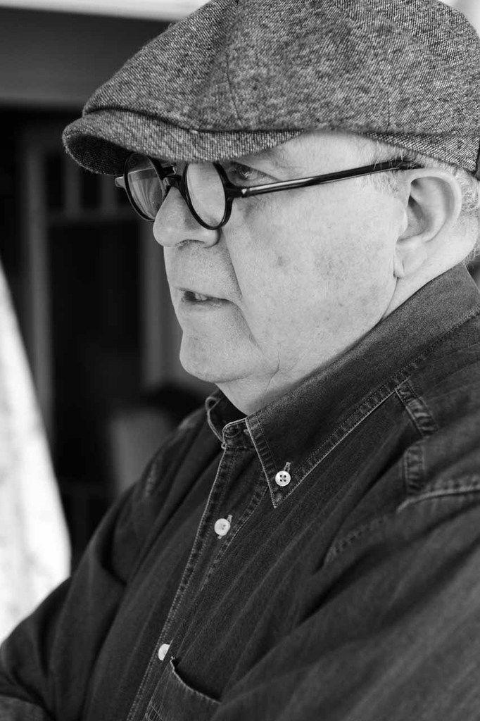 Gilles Altieri dans son atelier de Toulon, le 13 février 2013
