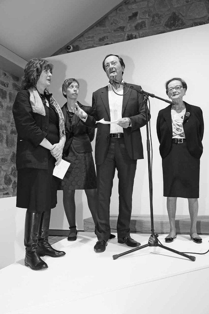 Pascale Le Thorel, Marie-Pierre Bathany, Michel-Édouard Leclerc, Hélène Leclerc