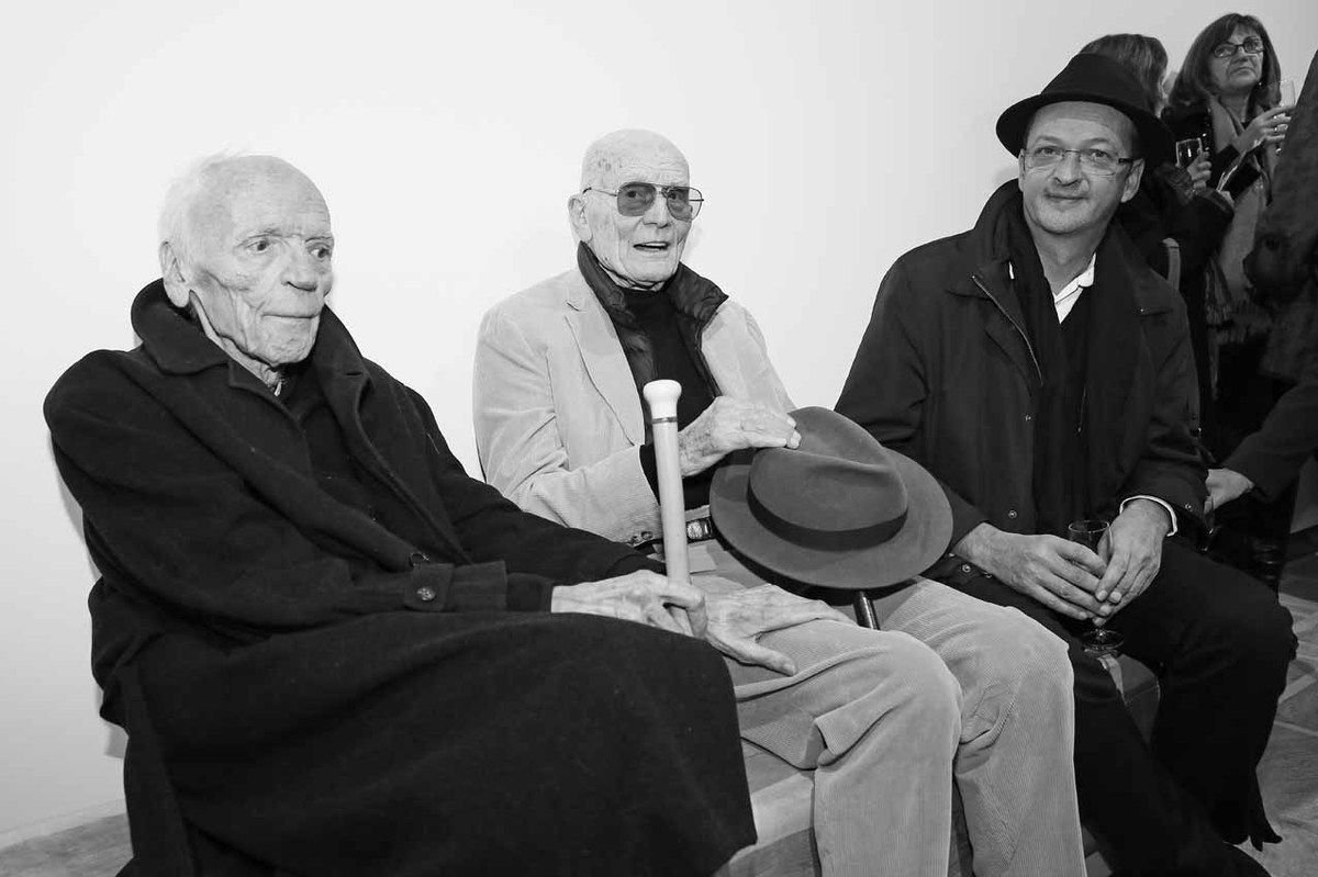 Alain Jouffroy, Jacques Monory, Djamel Tatah