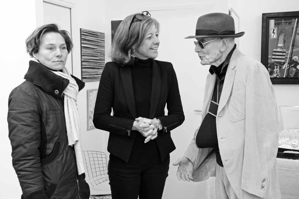 Catherine Salkeld, Nathalie Clouard, Jacques Monory