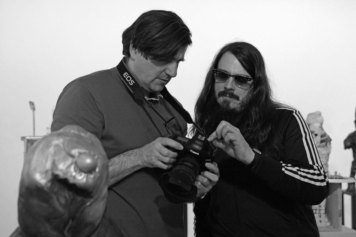 Avec Jan Bauer