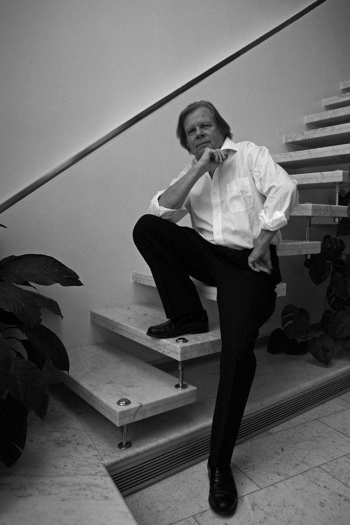 Peter Stampfli à Paris le 12 septembre 2008