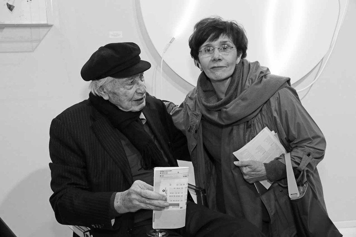 Julio Le Parc, Maria Arvelaiz-Gordon