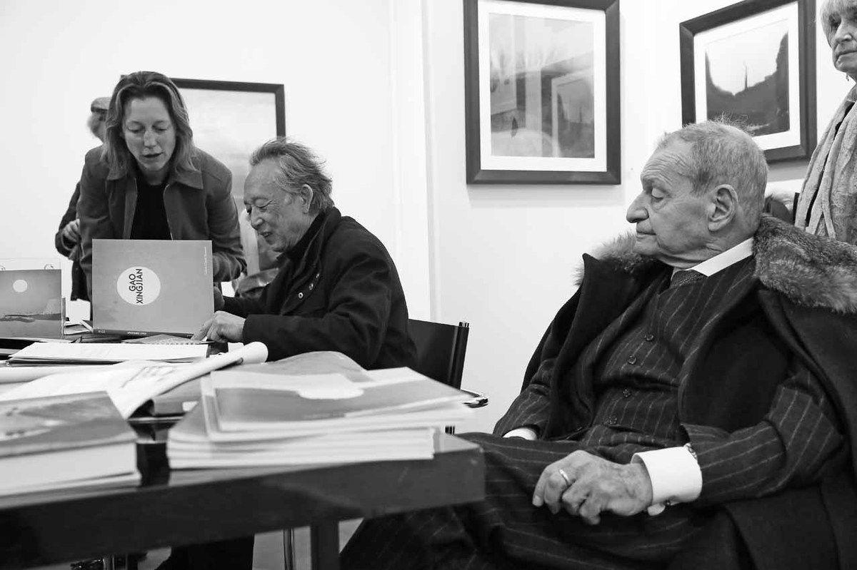 Inconnue, Gao XingJian, Claude Bernard