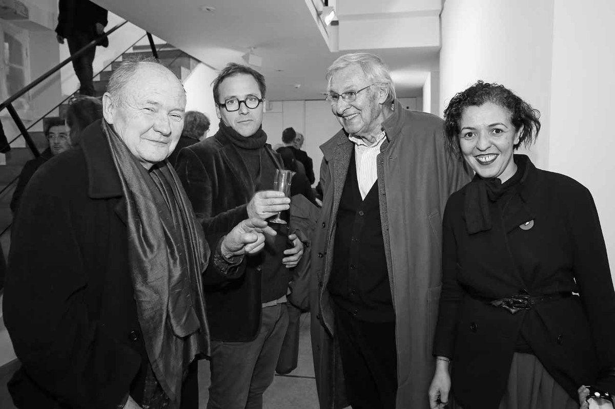 Daniel Pontoreau, Laurent Godard, Daniel Graffin, Fatiha Selam