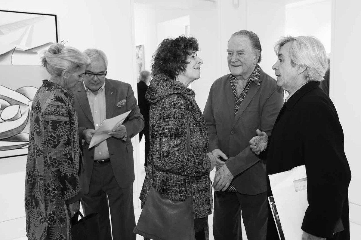 Inconnue, Patrick Bongers, Claudine Martin-Olivier, Erro, Dominique Païni