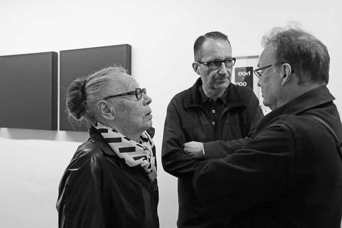Vera Molnar, Jean Brault, Laszlo Horvath