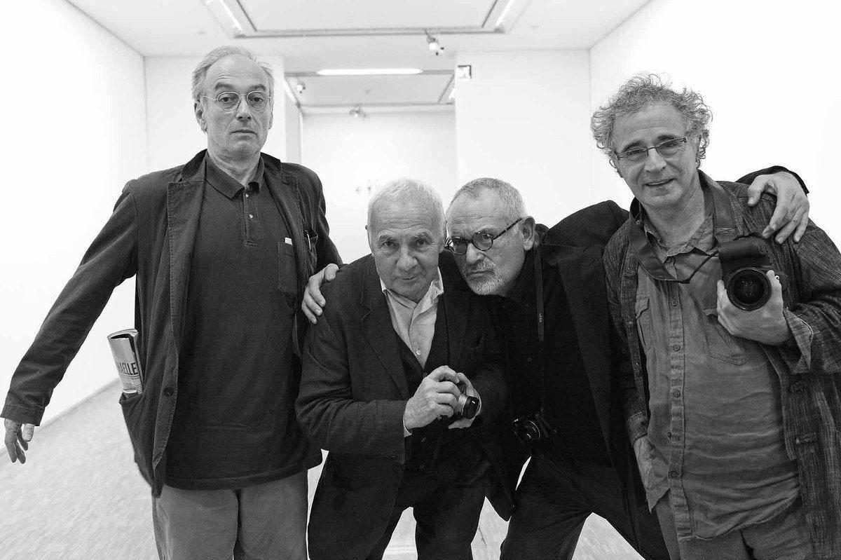 Serge Cohen, André Morain, Abe Frajndlich, Jean-Claude Planchet. Centre Georges Pompidou. Paris le 12 octobre 2010