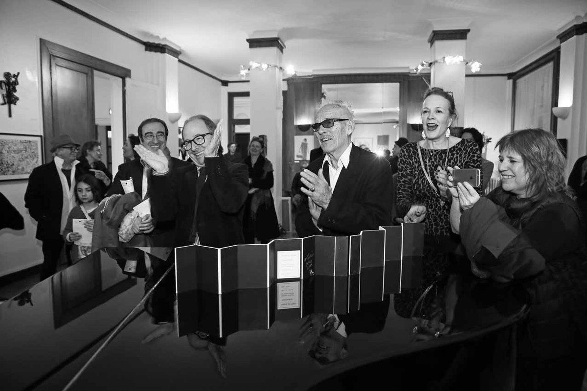 Ricardo Mosner, Ona Schwartz, Inconnu, Marcelo Balsells, Roberto Plate, Marie Binet, Federica Matta