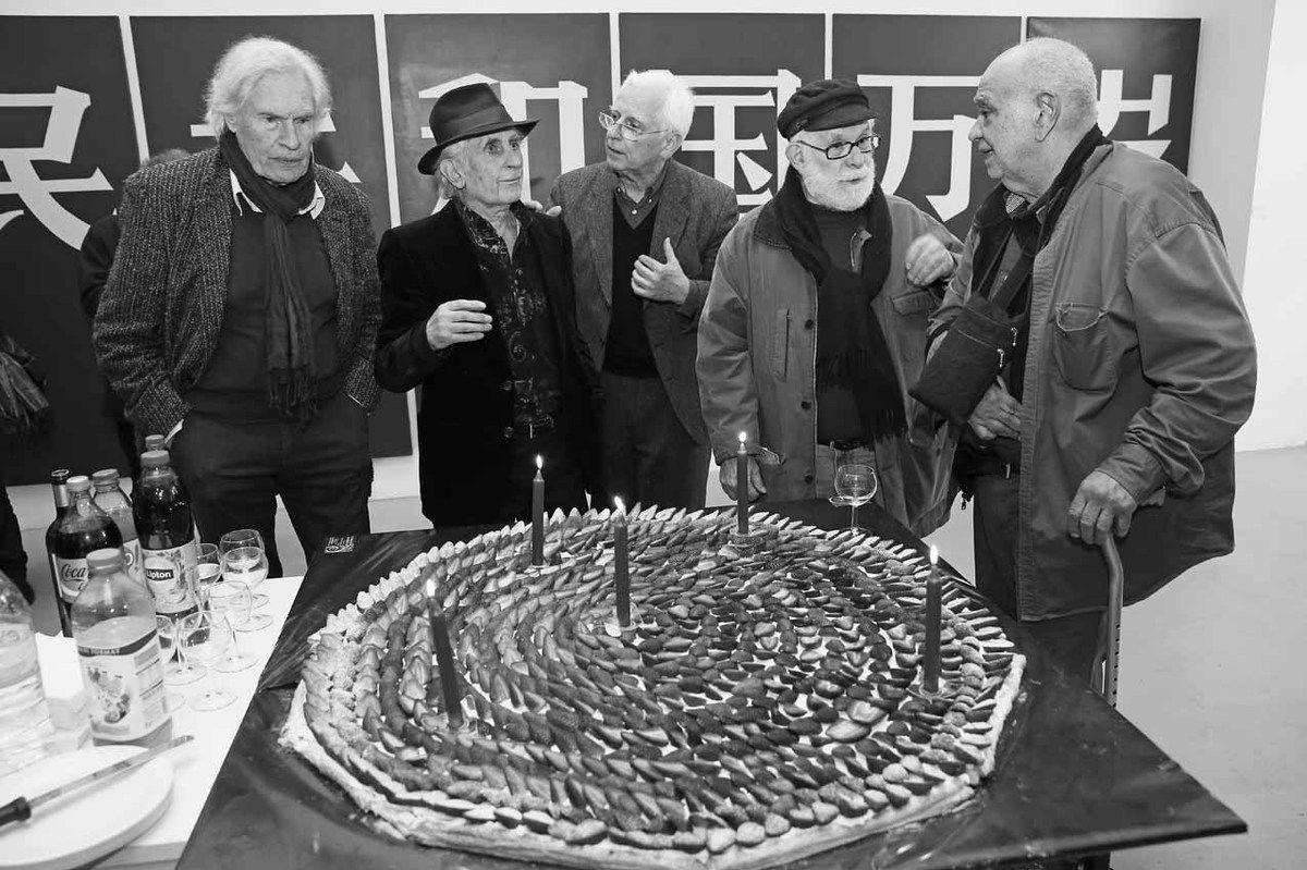 Peter Klasen, Bernard Rancillac, Jean Brolly, Gérard Guyomard, Hervé Télémaque