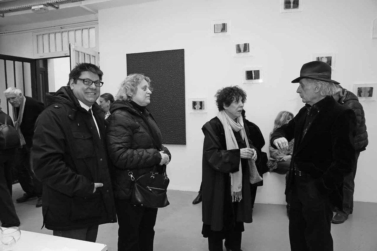 Paul-Armand Gette, Christophe, Nathalie, Mariette Guéna, Bernard Rancillac