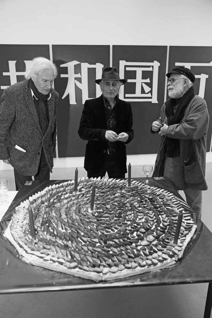 Peter Klasen, Bernard Rancillac, Gérard Guyomard