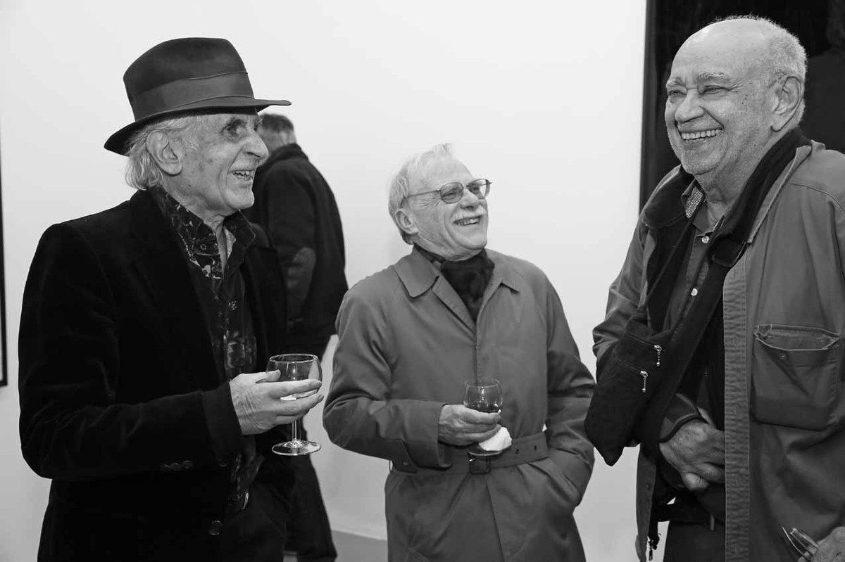 Bernard Rancillac, Serge Fauchereau, Hervé Télémaque