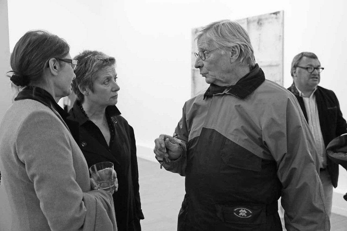 Pascale Callu Merite, Françoise Proust, Louis Cane, Eric Proust