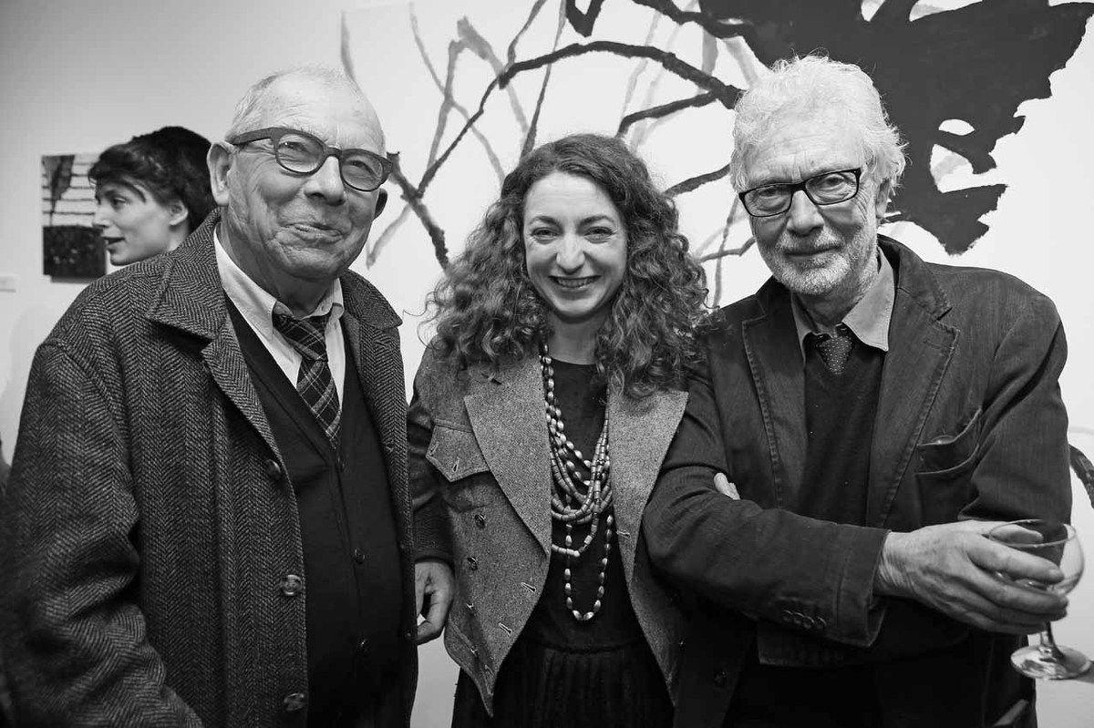 Vincent Bioulès, Anna Klossowski, Pierre Buraglio