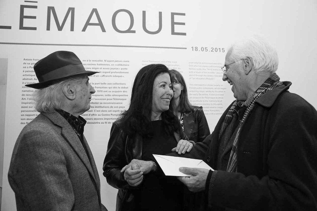 Bernard Rancillac, Djohar Rancillac, Jean Brolly