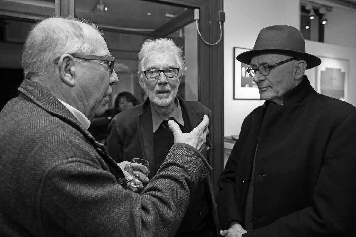 Vincent Bioulès, Pierre Buraglio, Albert Loeb
