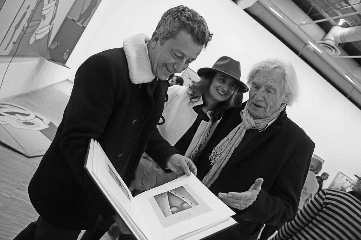 Arnaud Brument, Aurélie Bensch, Peter Klasen