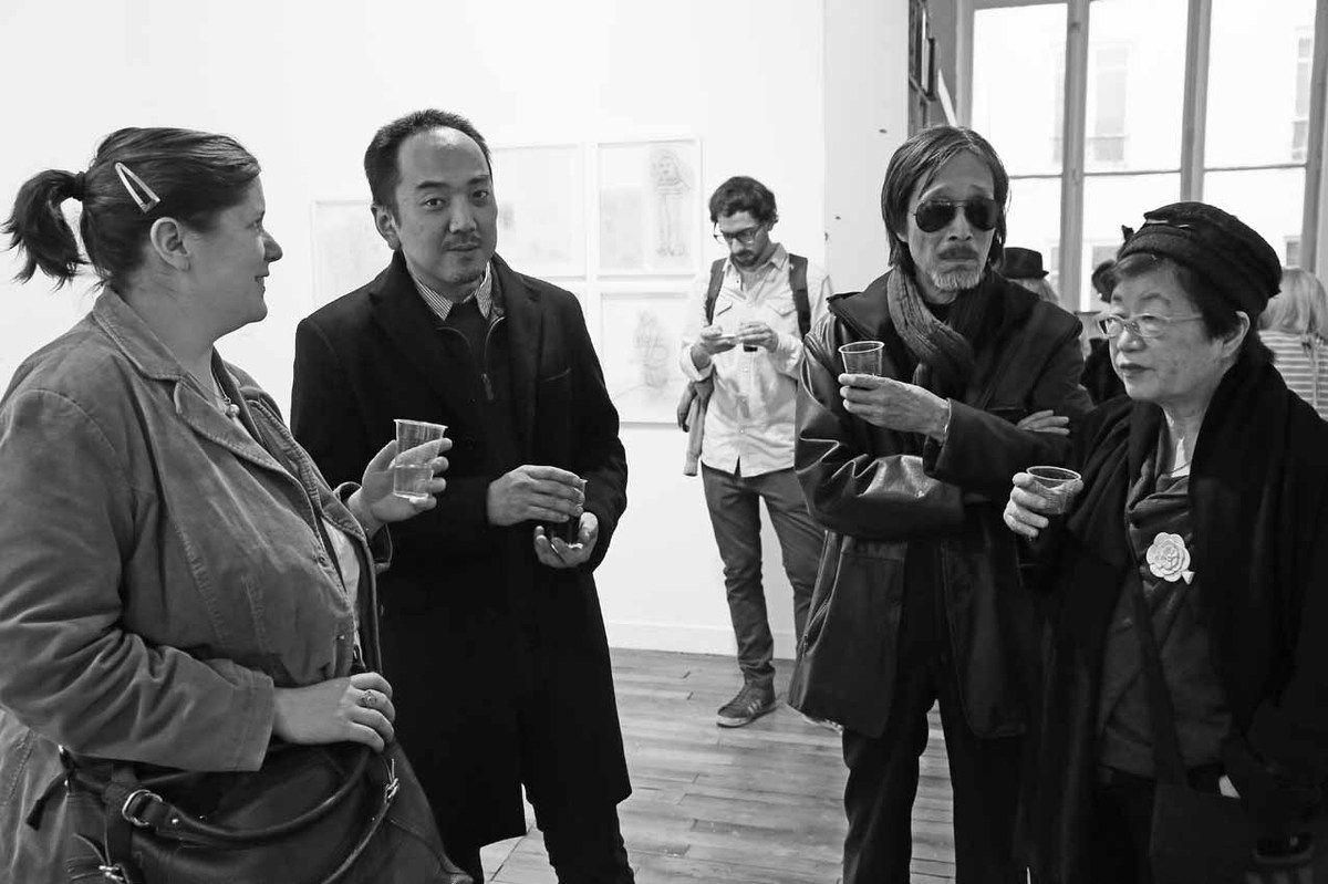 Sylvie Thévenet, Daïsei Oshima, Tateo Tamagawa, Misako Tamagawa