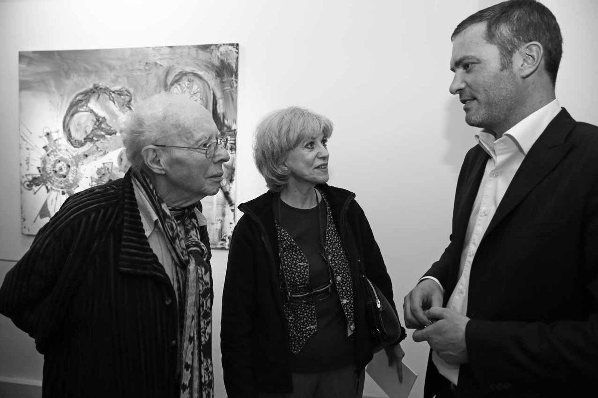 Gilbert Lascault, Tita Reut, Raynald Driez