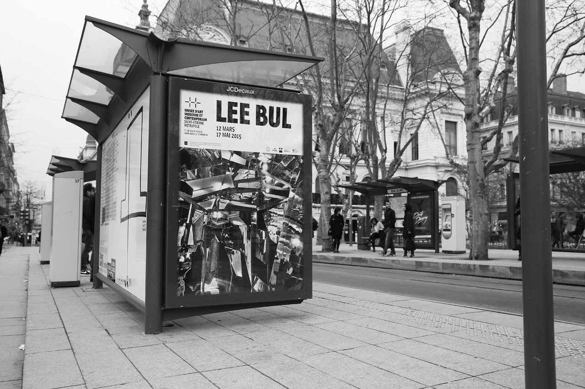 Affiche de l'exposition Lee Bul