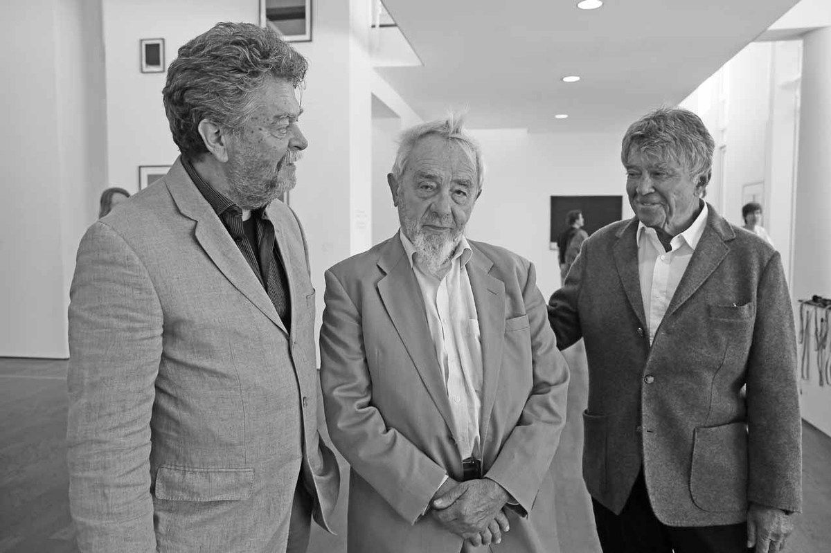 Helmut Friedel, Arnulf Rainer, Frieder Burda