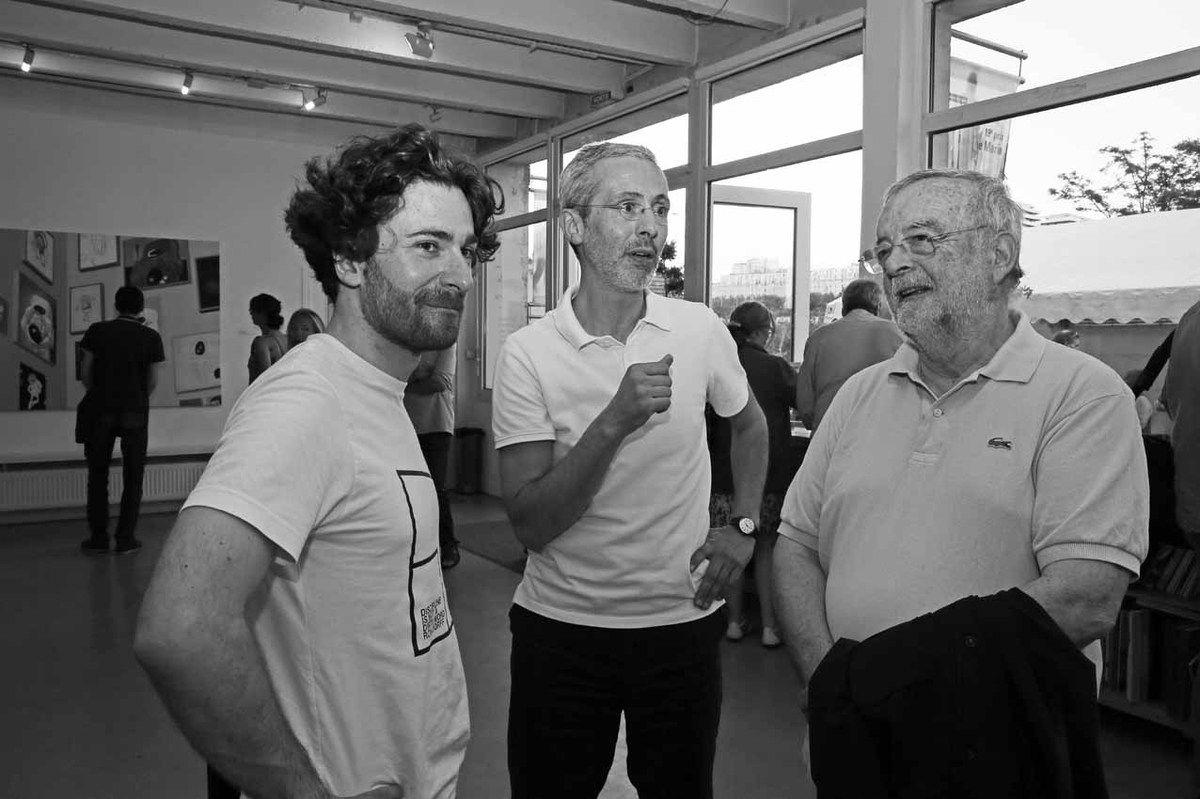 Quentin Lefranc, Philippe Marin, Claude Rutault