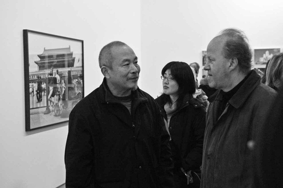 Wang Keping, Bernard Zürcher