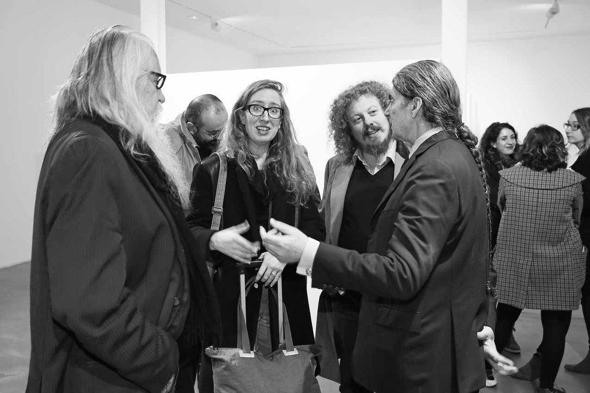 Olivier Mosset, Inconnue, Inconnu, John Armleder