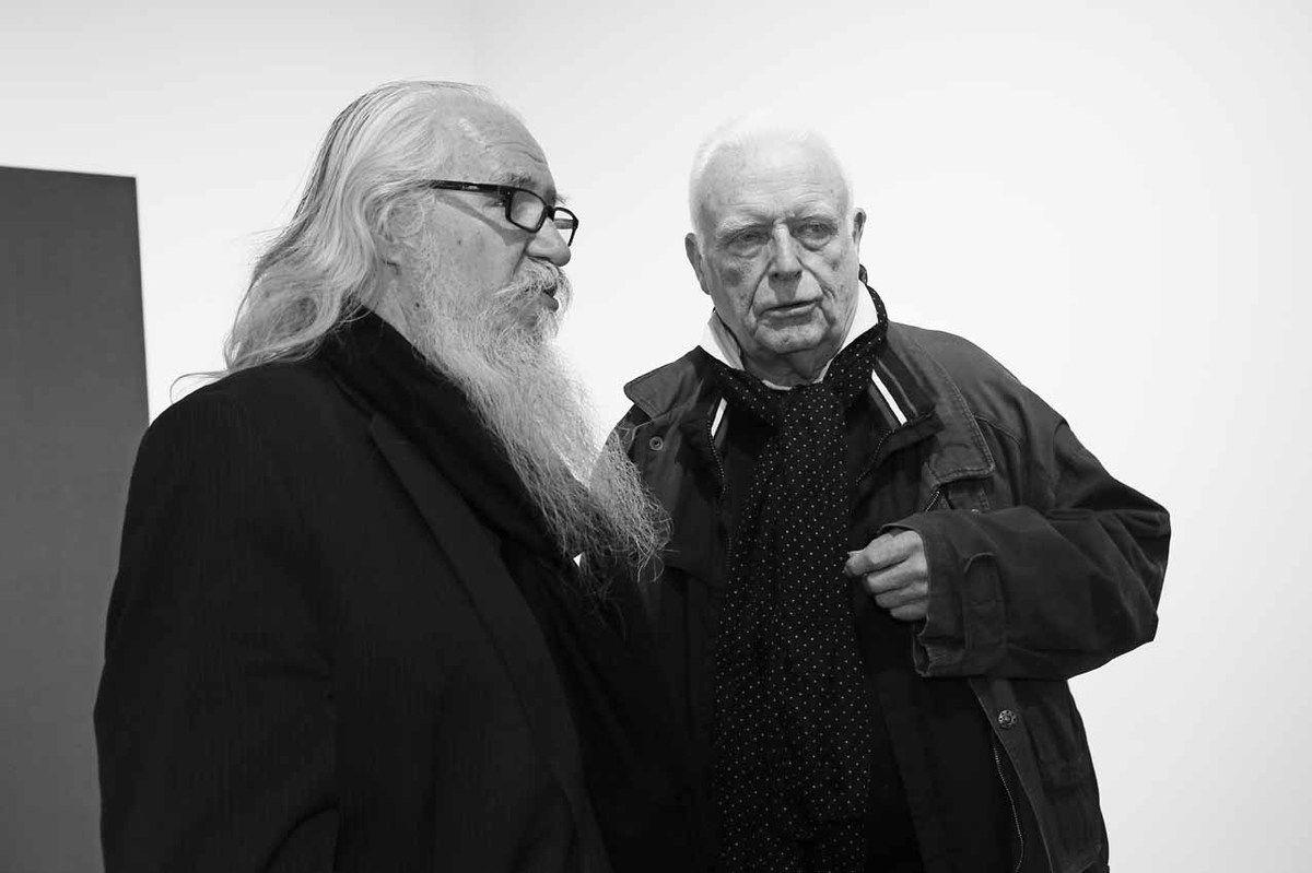 Olivier Mosset, Christian Jaccard