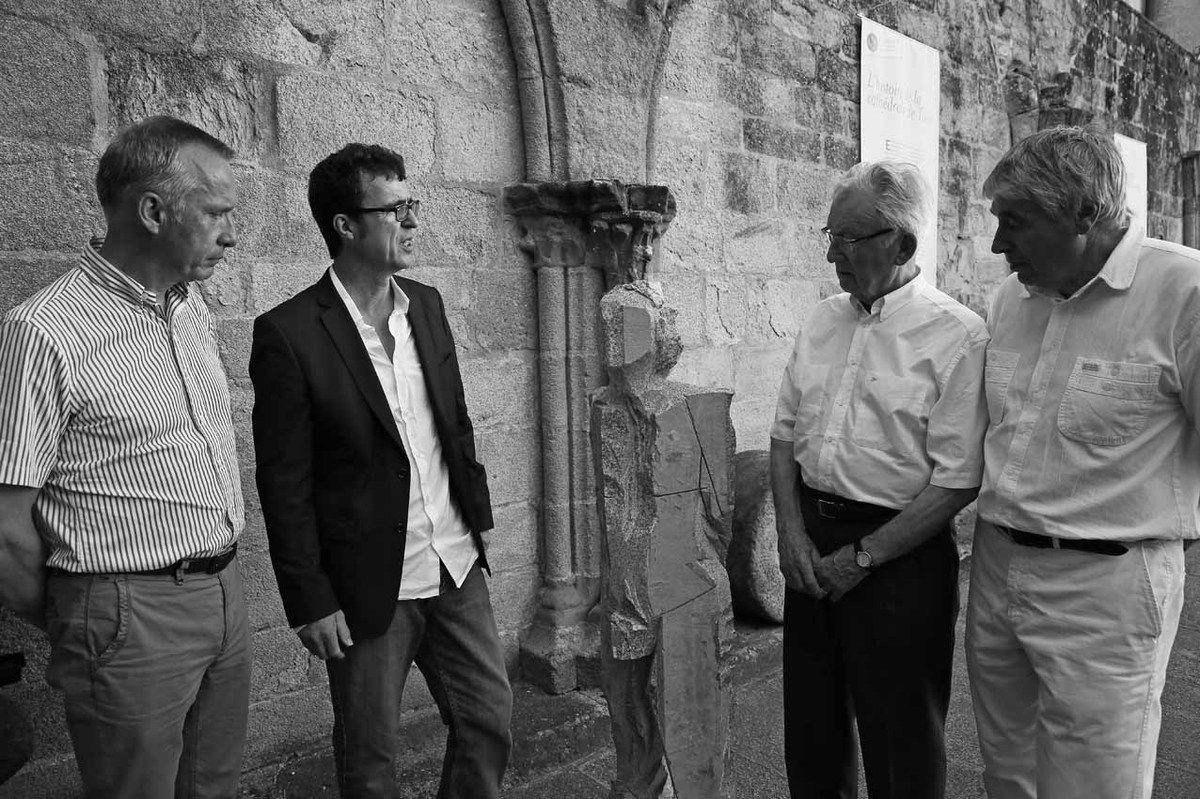 Bernard Combes, Denis Monfleur, Georges Mouly, Yannik Seguin