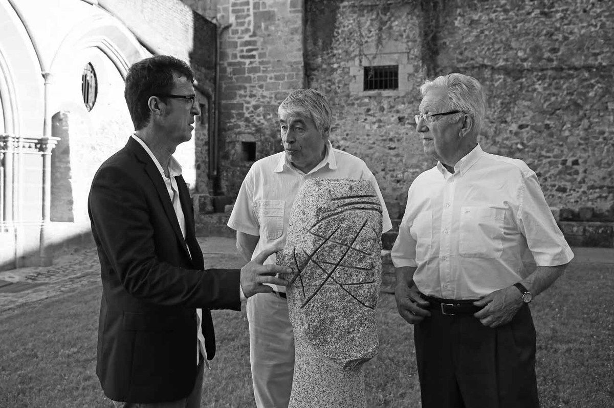 Denis Monfleur, Yannik Seguin, Georges Mouly