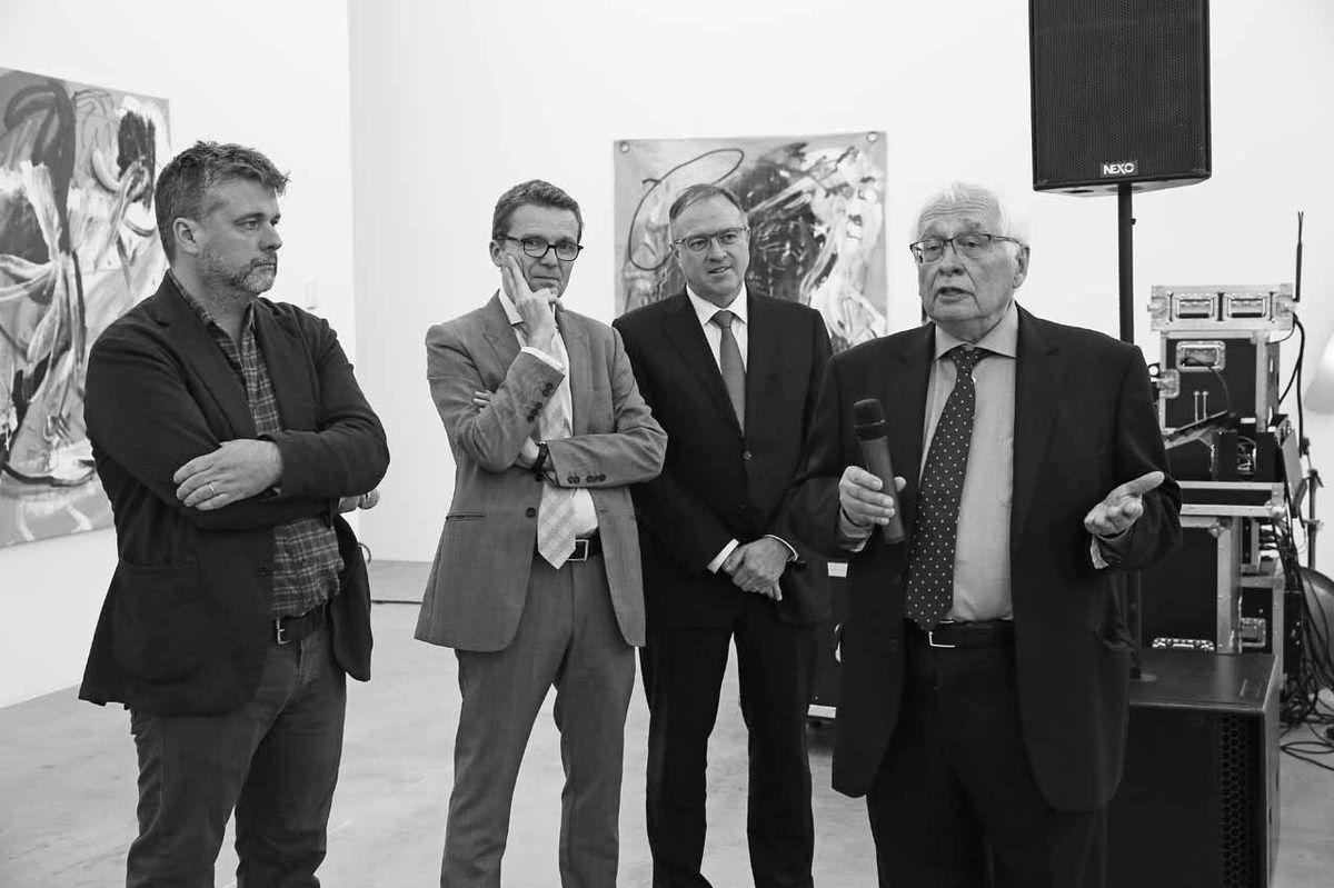 Wallace Whitney, Philippe Depoorter, Pierre Ahlborn, Bernard Ceysson