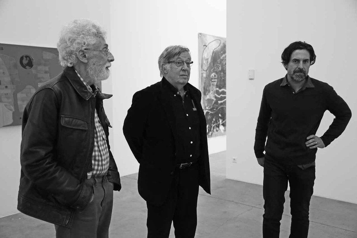 Patrick Saytour, Claude Viallat, Franck Chalendard