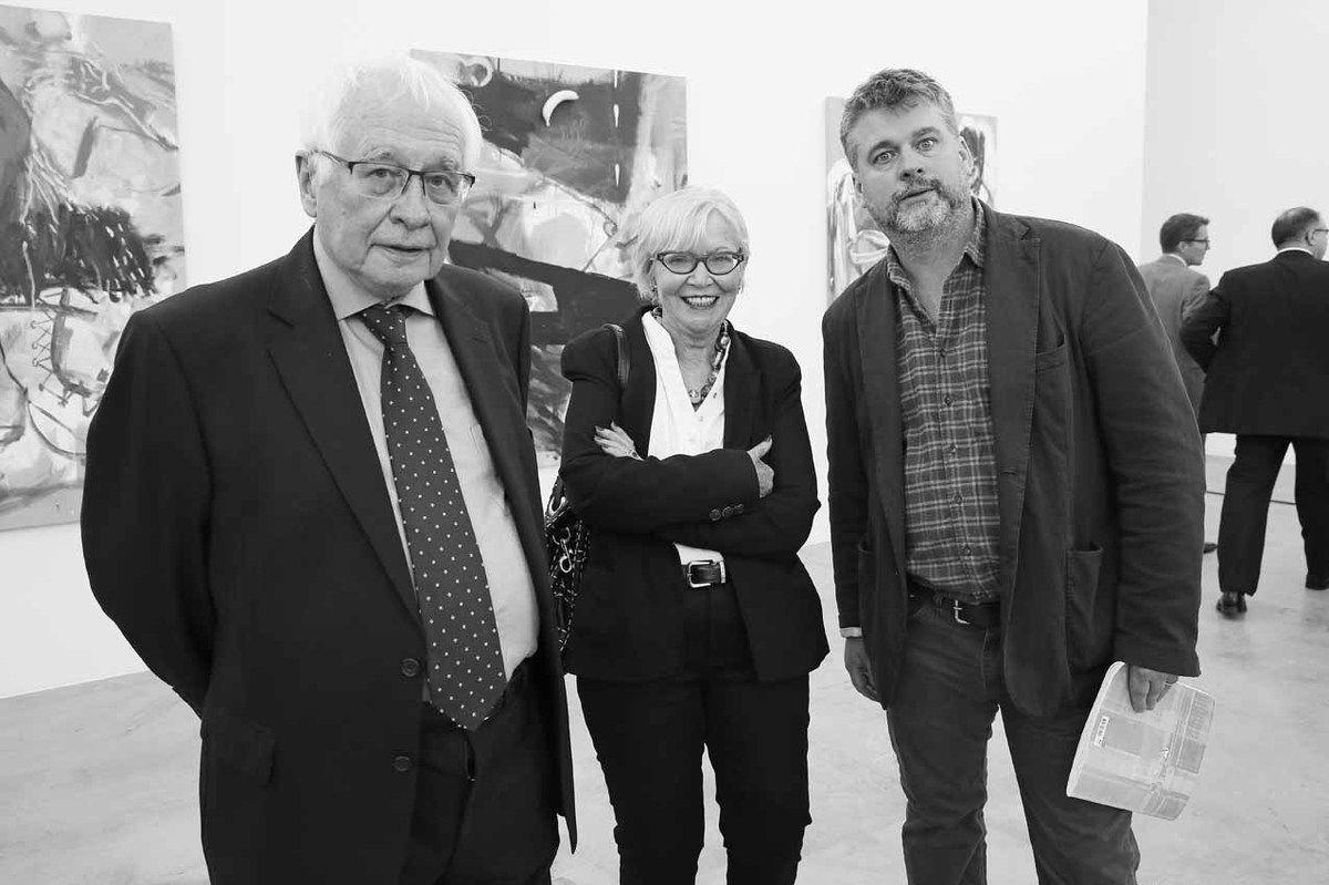 Bernard Ceysson, Jacqueline Ceysson, Wallace Whitney, Philippe Depoorter, Pierre Ahlborn