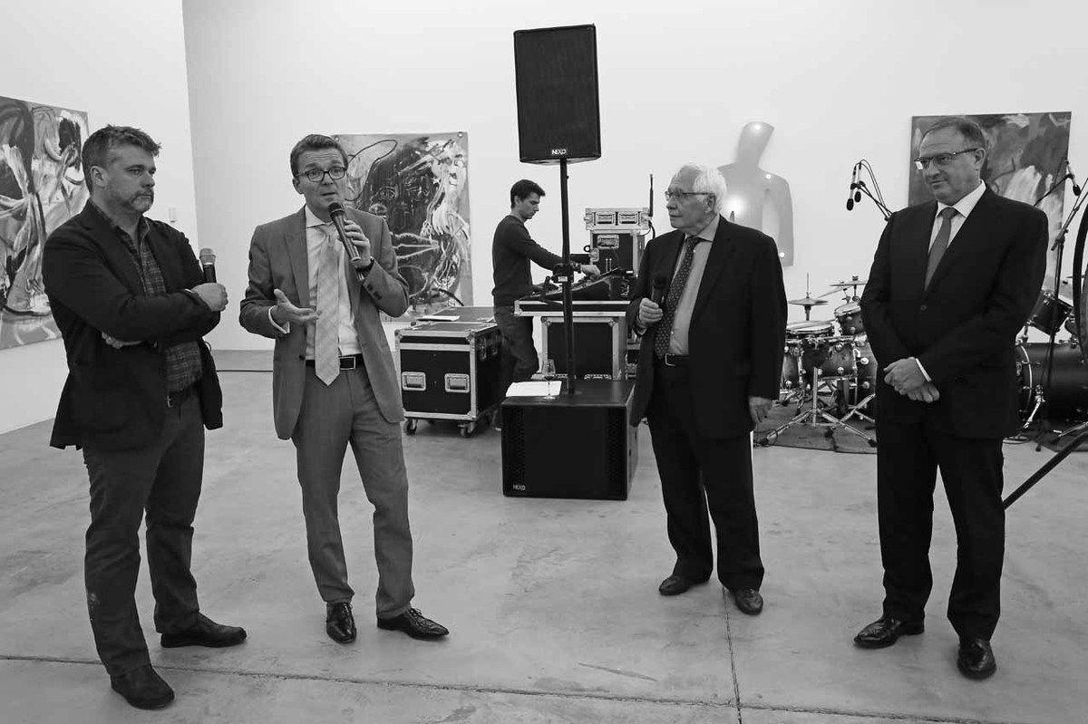 Wallace Whitney, Philippe Depoorter, Bernard Ceysson, Pierre Ahlborn