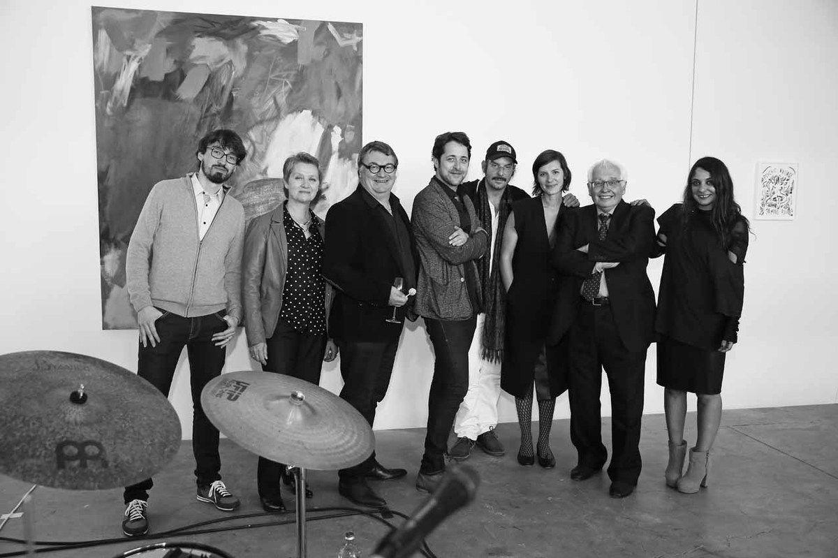 François Ceysson, Françoise Proust, Eric Proust, Loïc Bénétière, Spencer Sweeney, Sadie Laska, Bernard Ceysson, Lizzi Bougatsos