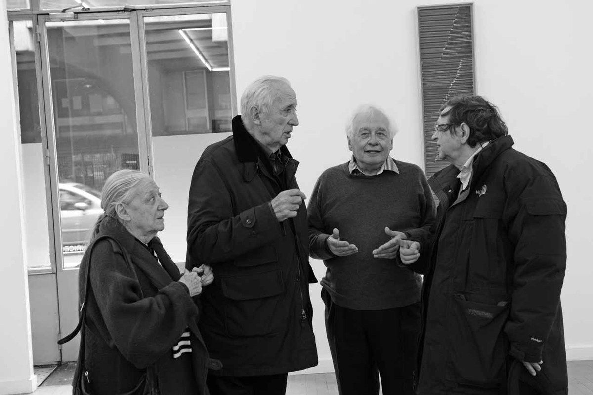 Colette Soulages, Pierre Soulage, Bernard Ceysson, Pierre Encrevé