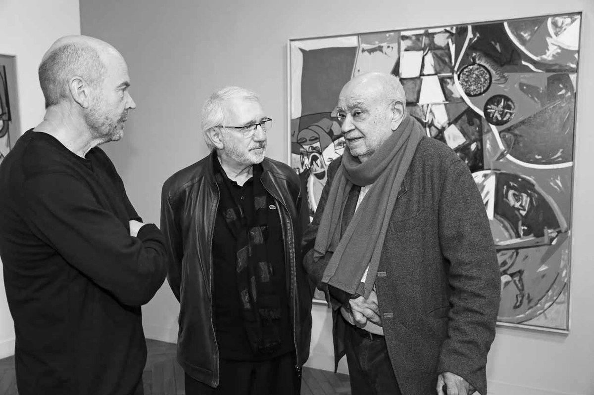 Michel Natier, Philippe Piguet, Hervé Télémaque