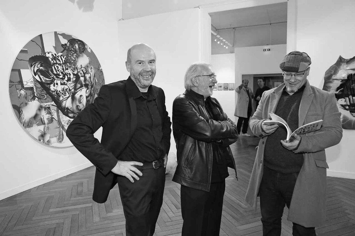Michel Natier, Philippe Piguet, Baptiste Roux